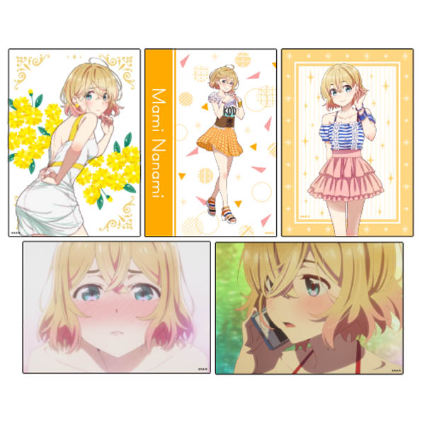 Rent-A-Girlfriend  Party dress and girlfriend – illustration cards set – Nanami Mami B